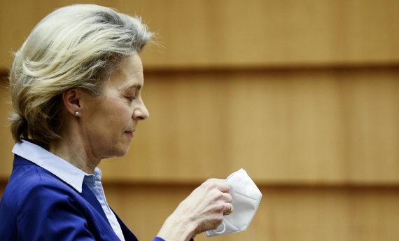 """""""Scanpix""""/AP nuotr./Ursula von der Leyen"""