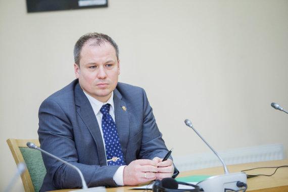 Josvydo Elinsko / 15min nuotr./Žemės ūkio ministras Giedrius Surplys