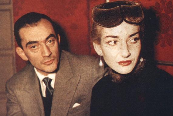 """Festivalio """"Kino pavasaris"""" nuotr./Kadrai iš filmo """"Maria Callas: savais žodžiais"""""""