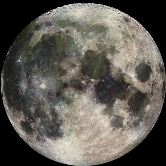 NASA nuotr./Mėnulio paviršius