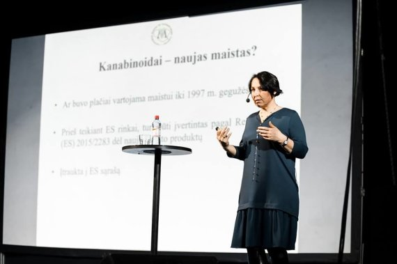 Simono Lankučio nuotr./VMVT Maisto skyriaus vedėja, valstybinė maisto produktų inspektorė Ilona Drulytė.