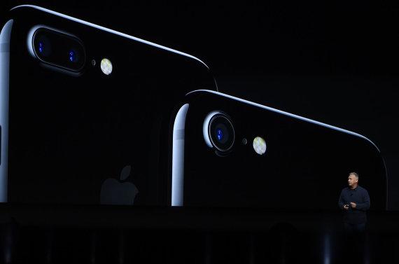 """Scanpix""/""Sipa USA"" nuotr./Telefonas ""iPhone 7"""
