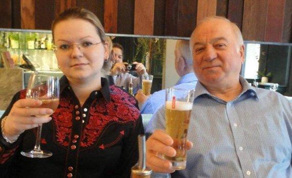 """""""Facebook"""" nuotr./Julija ir Sergejus Skripaliai"""