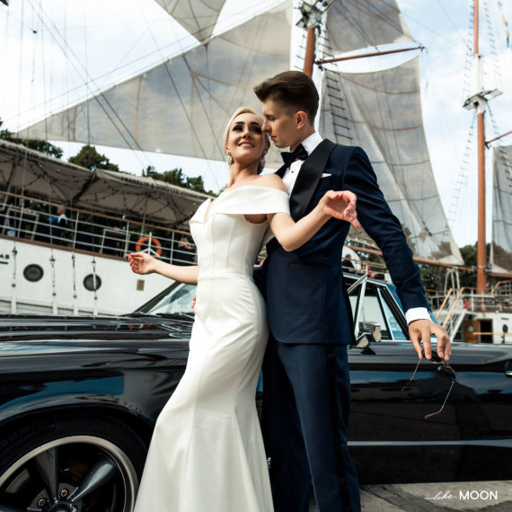 Like Moon nuotr./Ernesto Mongino ir Lauros Staržinskaitės vestuvių akimirka