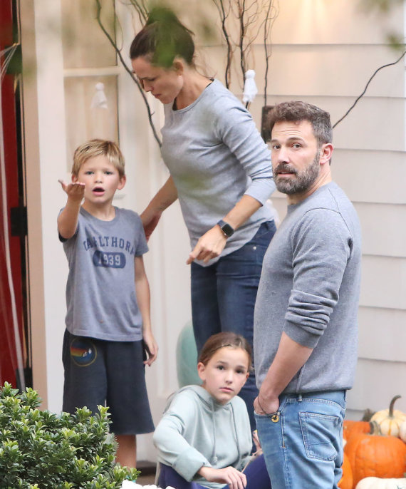Photo: Vida Press / Ben Affleck, ex-wife of Ennifer Garner and children