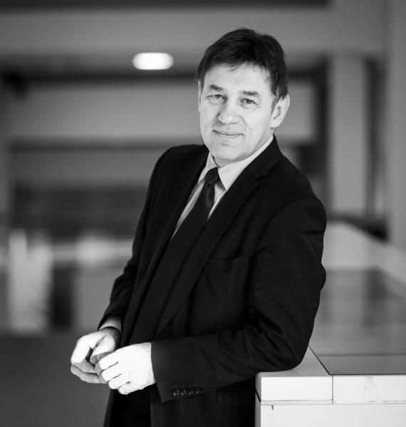 Remigijaus Ščerbausko nuotr./ Vytauto Didžiojo universiteto rektorius prof. Juozas Augutis