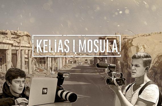 15min nuotr./Kelionė į Mosulo miestą