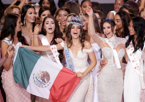 """Reuters""/""Scanpix"" nuotr./""Mis Pasaulis"" laimėjo meksikietė Vanessa Ponce de Leon"