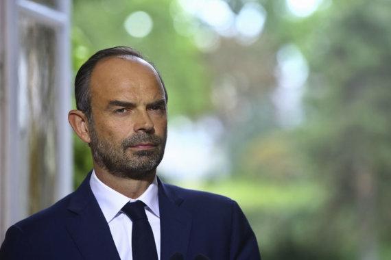 """""""Scanpix""""/AP nuotr./Prancūzijos premjeras Edouard'as Philippe'as"""