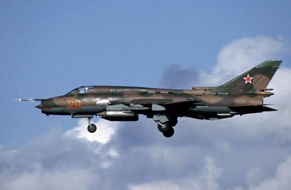 "Robo Schleifferto/ ""Wikipedia.org"" nuotr. /Naikintuvas ""Suchoj Su-22"""