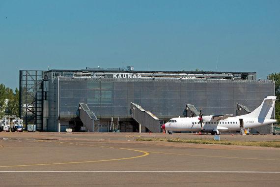Kauno oro uosto nuotr./Kauno oro uostas siekia tapti su aviacija susijusių verslu baze.