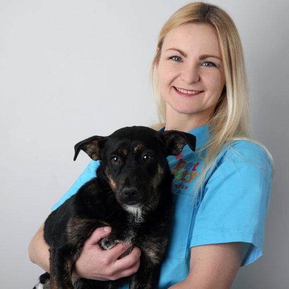 """""""PetCity"""" nuotr./""""PetCity"""" veterinarijos klinikos gydytoja-oftalmologė Irina Geraskina"""