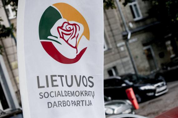 Vidmanto Balkūno / 15min nuotr./Lietuvos socialdemokratų darbo partijos būstinės atidarymas