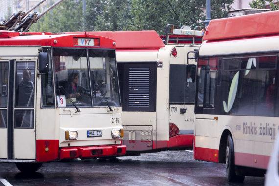 Irmanto Gelūno / 15min nuotr./Viešasis transportas