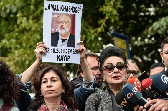 "AFP/""Scanpix"" nuotr./Jamalas Khashoggi"