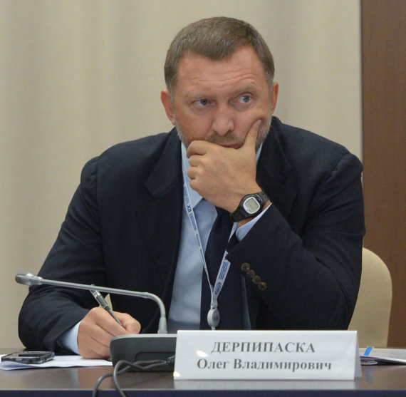 """""""Scanpix""""/""""RIA Novosti"""" nuotr./Olegas Deripaska"""