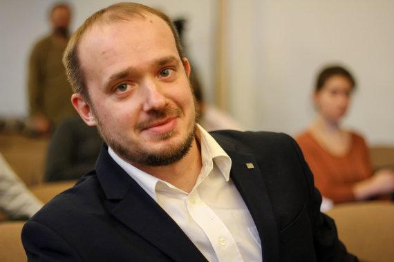 Liutauras Gudžinskas/ Metinė Politologų Konferencija/ Vyto Nevieros nuotr.