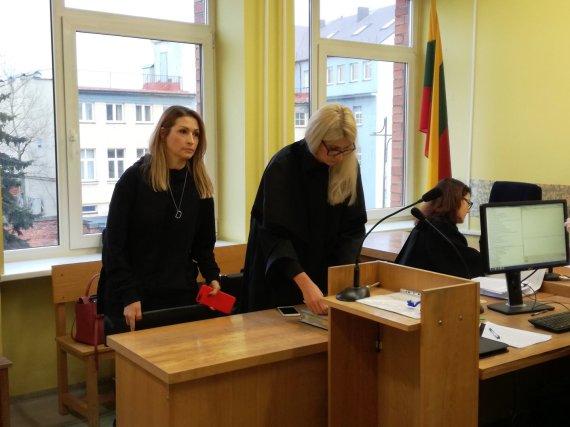 J. Andriejauskaitės / 15min nuotr./Daina Bosas Klaipėdos apygardos teisme