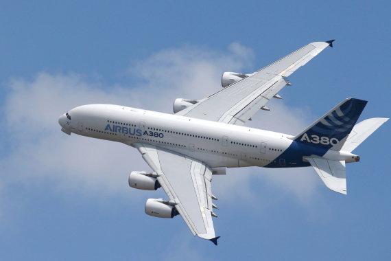 """""""Reuters""""/""""Scanpix"""" nuotr./Airbus A380"""