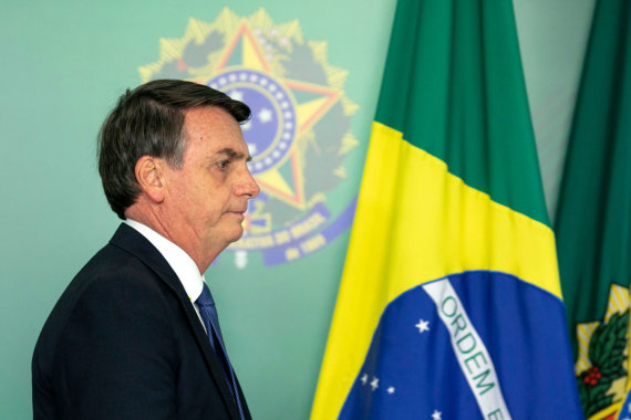 "AFP/""Scanpix"" nuotr./Jairas Bolsonaro"