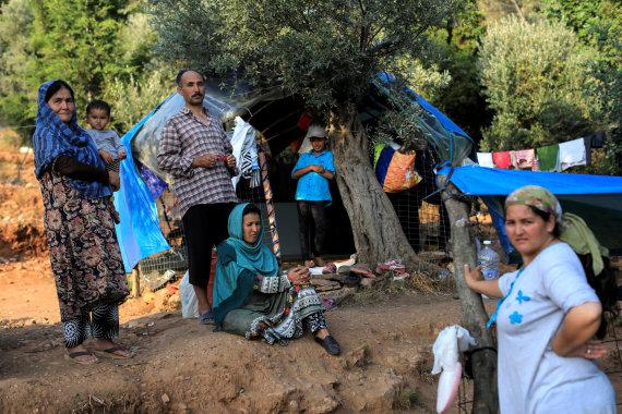 """""""Reuters""""/""""Scanpix"""" nuotr./Migrantai iš Afganistano Graikijoje"""
