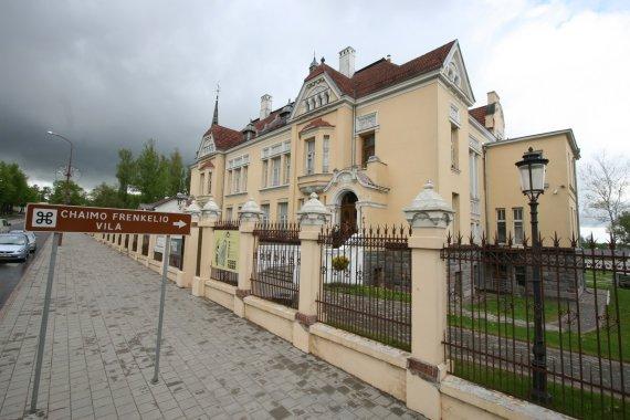 Alvydo Januševičiaus nuotr./Ch.Frenkelio vila
