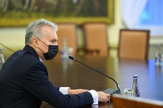 Prezidentūros nuotr. /Gitanas Nausėda