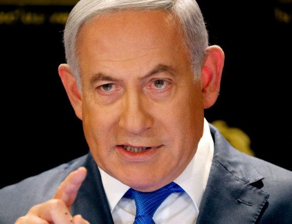 "AFP/""Scanpix"" nuotr./Benjaminas Netanyahu"