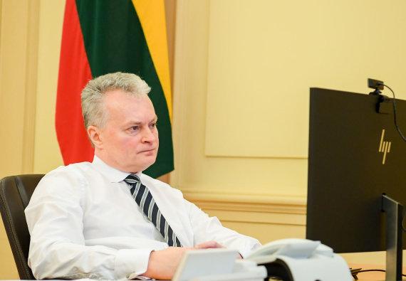 LR Prezidento kanceliarijos/R.Dačkaus nuotr./G.Nausėda