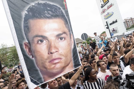 """""""Scanpix"""" nuotr./Cristiano Ronaldo sutiktas Turine"""