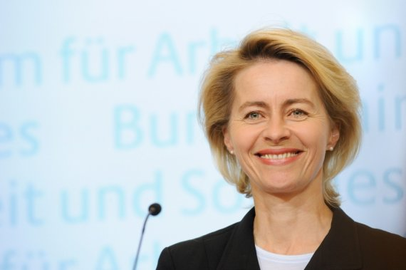 "AFP/""Scanpix"" nuotr./Vokietijos gynybos ministrė Ursula van der Leyen"