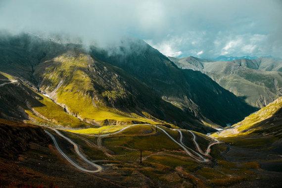 Shutterstock.com nuotr./Tušetijos nacionalinis parkas