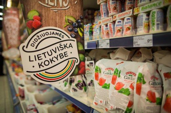 """Prekybos centro """"Maxima"""" nuotr./Lietuviški produktai"""