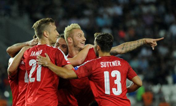 "AFP/""Scanpix"" nuotr./Austrijos futbolo rinktinė"