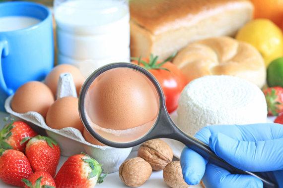 123RF.com nuotr./Dažniausiai alergiją sukeliantis maistas