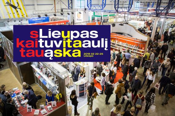 Žygimanto Gedvilos / 15min nuotr./Vilniaus knygų mugės tema 2018 metais