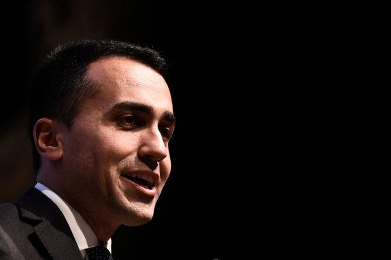 """AFP/""""Scanpix"""" nuotr./Luigi Di Maio"""
