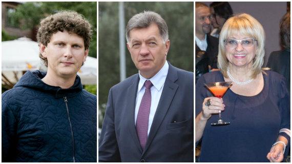 15min.lt montažas/Evaldas Vaitasius, Algirdas Butkevičius ir Dalia Kutraitė-Giedraitienė