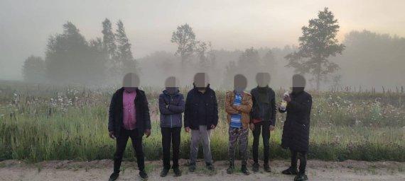 VSAT nuotr./Migrantai iš Baltarusijos