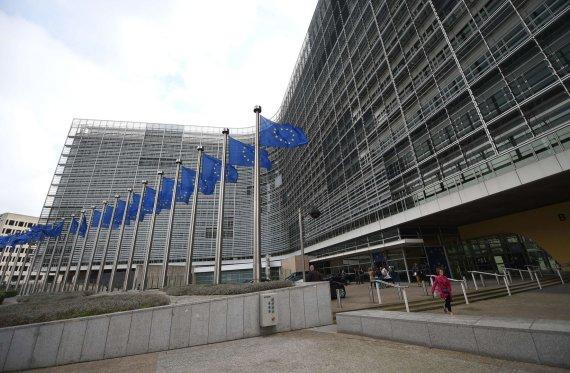 "AFP/""Scanpix"" nuotr./ES būstinė Briuselyje"