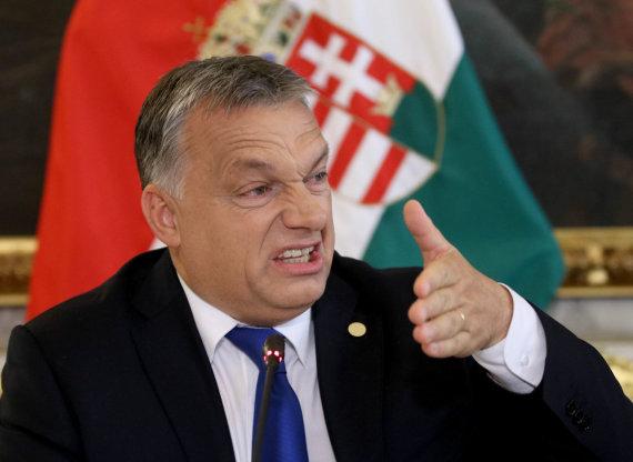 """Scanpix""/AP nuotr./Vengrijos premjeras Viktoras Orbanas"
