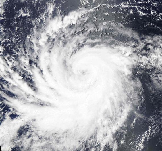 """AFP/""""Scanpix"""" nuotr./Uraganas Lane"""