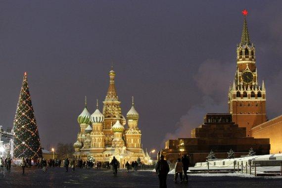 """""""Scanpix""""/AP nuotr./Maskvos Raudonoji aikštė"""
