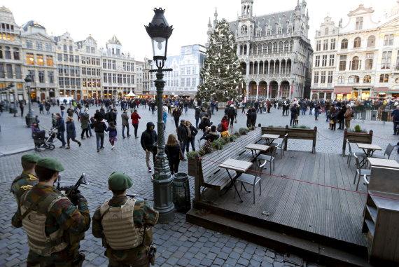 """""""Reuters""""/""""Scanpix"""" nuotr./Briuselio Didžioji aikštė"""