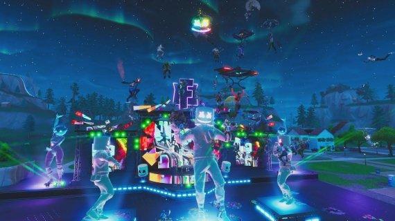 """DJ Marshmello"" koncertas ""Fortnite"" žaidime"