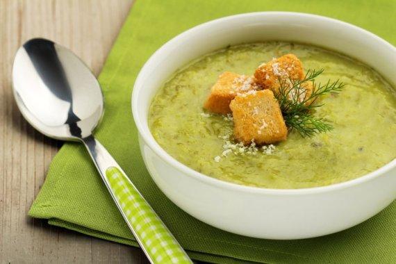 Fotolia nuotr./Kreminė špinatų sriuba