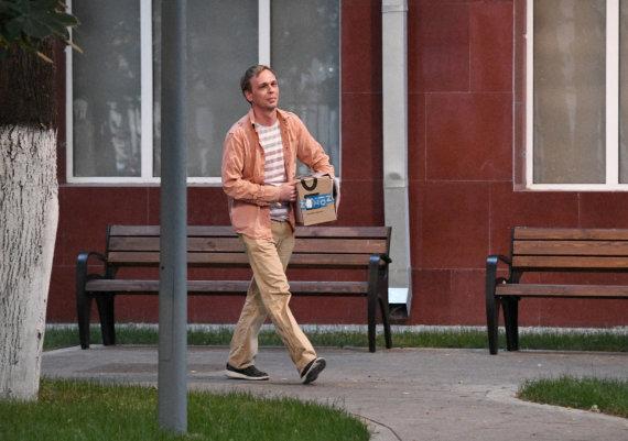 """""""Scanpix"""" nuotr./Į laisvę paleistas Ivanas Golunovas"""