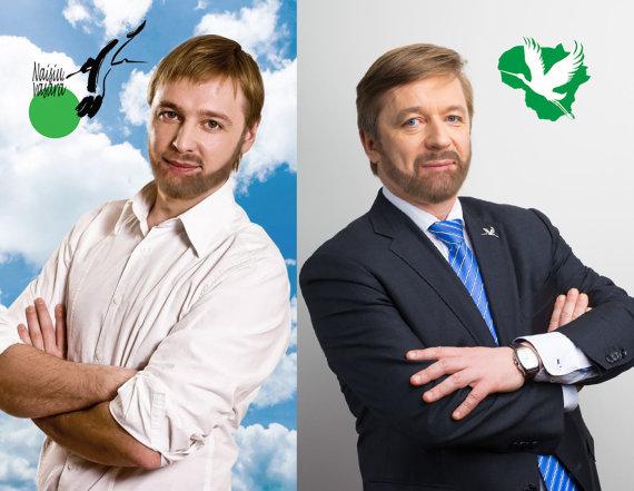 15min fotomontažas/Jei Aurimas Žvinys ir Ramūnas Karbauskis augintų barzdas ir ūsus