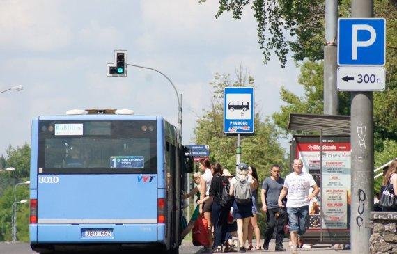 A.Primost/15min nuotr./Viešasis transportas Vilniuje