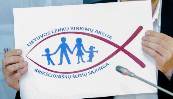 Irmanto Gelūno / 15min nuotr./Lietuvos lenkų rinkimų akcija-krikščioniškų šeimų sąjunga